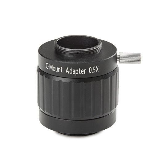 Fotoadapter met 0,5x lens voor NexiusZoom en 1/2 inch camera met C-ring