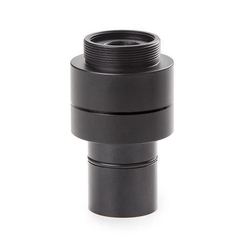 """C-ring adapter met 0,37x objectief voor standaard Ø 23,2 mm tubus en 1/3"""" inch camera sensor"""