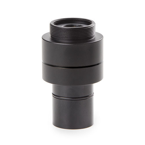 """C-ring adapter met 0,5x objectief voor standaard Ø 23,2 mm tubus en 1/2"""" inch camera sensor"""