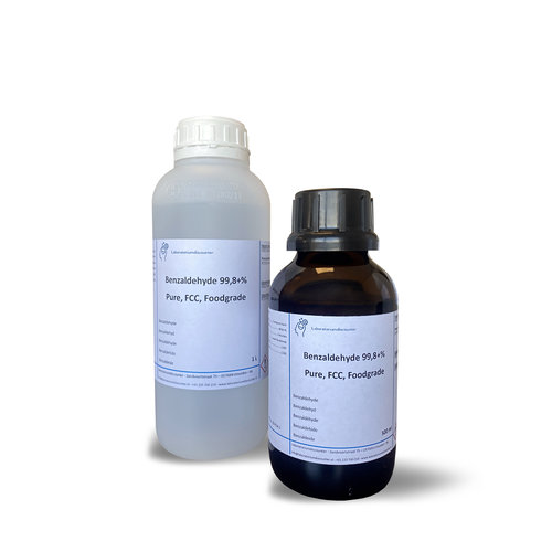 Benzaldehyde ≥99,8+%, Pure, FCC, Foodgrade