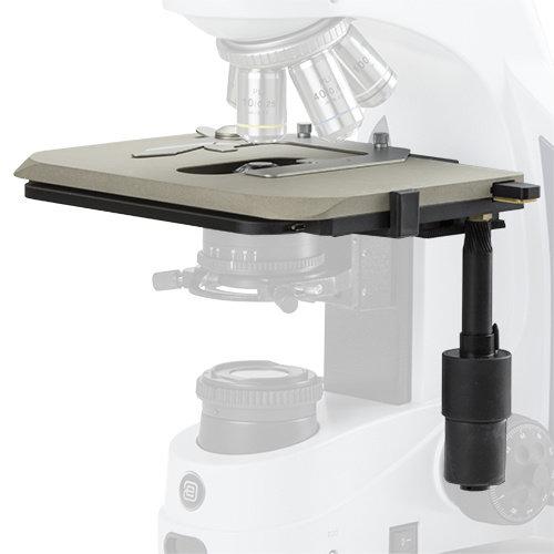 Grote keramische tafel voor iScope. Alleen met nieuwe microscopen, voeg achtervoegsel /C achter iScope modelonderdeelnummer