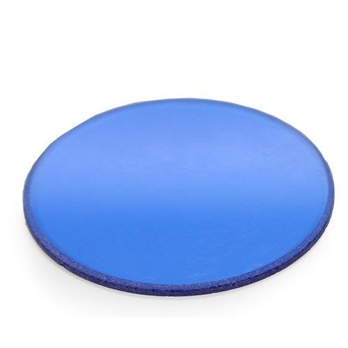 Blauwfilter, mat, 45 mm voor lamphuis van iScope