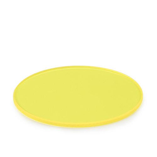 Geelfilter, mat, 45 mm voor lamphuis van iScope