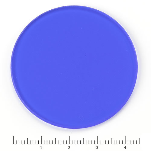 Blauwfilter 45 mm voor lamphuis