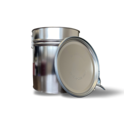 Metal bucket with UN approval
