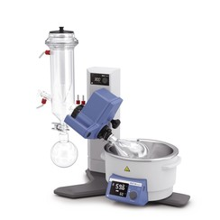 Evaporadores rotativos RV 8 con condensador de hielo seco, revestidos