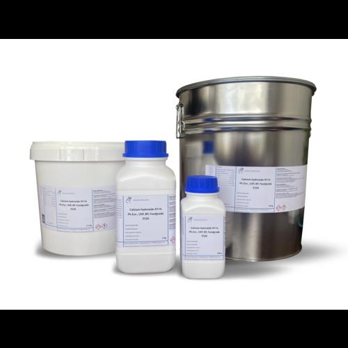 Calcium hydroxide ≥97 %, Ph.Eur., USP, BP, Foodgrade E526