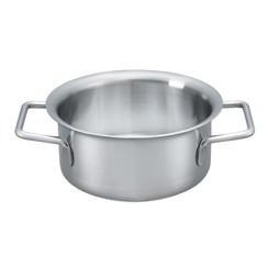 H 1000 roestvrijstalen pan, 1 l