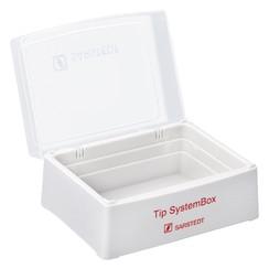 Pipette tip box xs/s