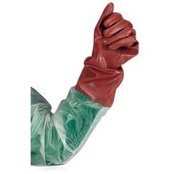 Protección química Guantes largos PVC