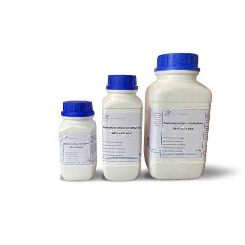 Aluminiumnitraat nonahydraat ≥98%, extra puro