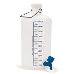 Ballonflasche mit Hahnanschluss