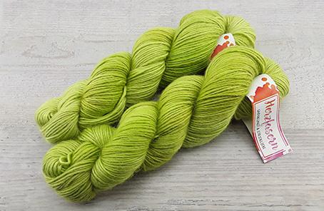 Alpaka/Seide - Maigrün