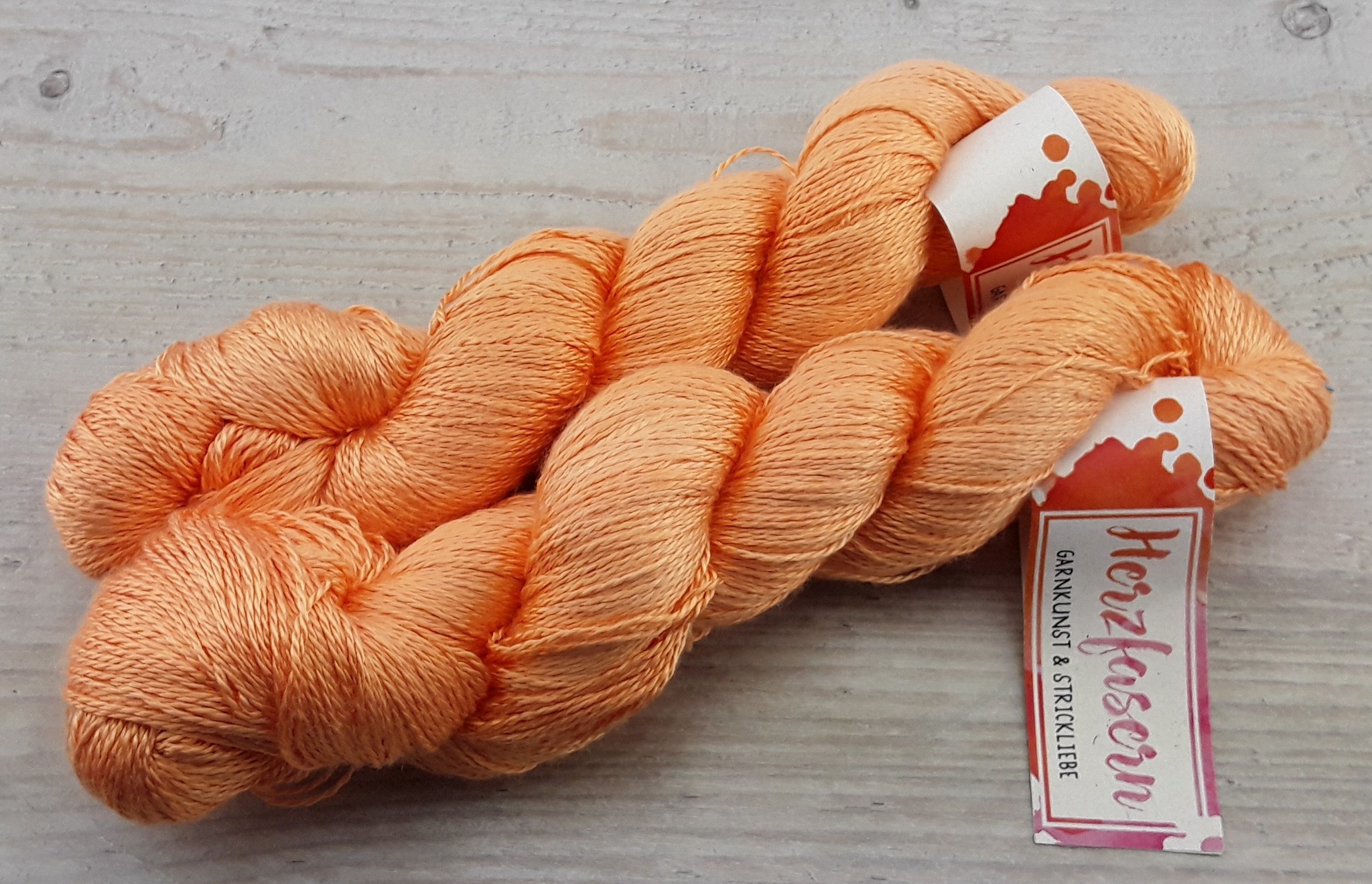 Reine Seide - Peach