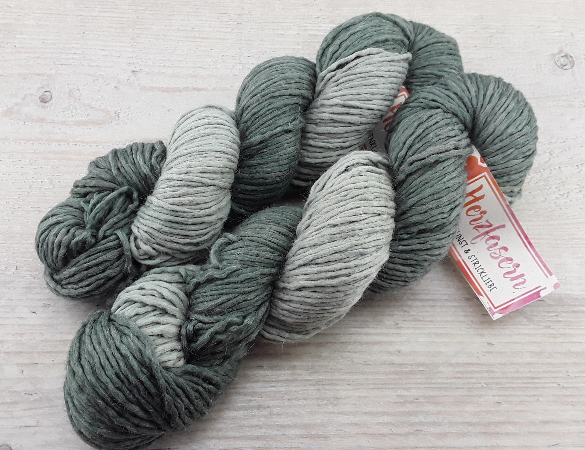 Alpakamischung - Grau