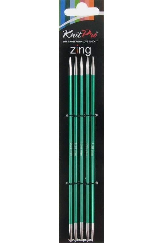 Knit Pro Zing KnitPro Zing Nadelspiel 3,25 mm - 15 cm