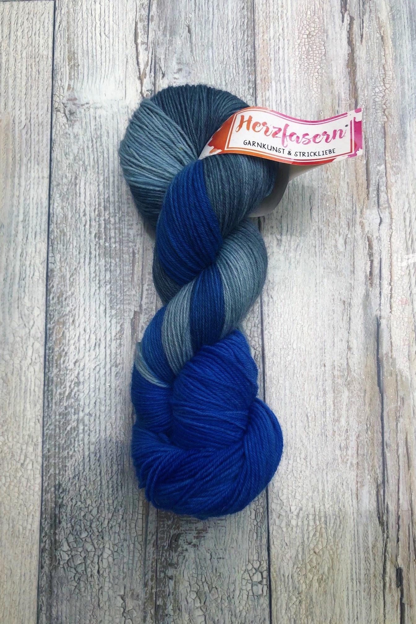 Herzfasern Sockenwolle - König Drosselbart