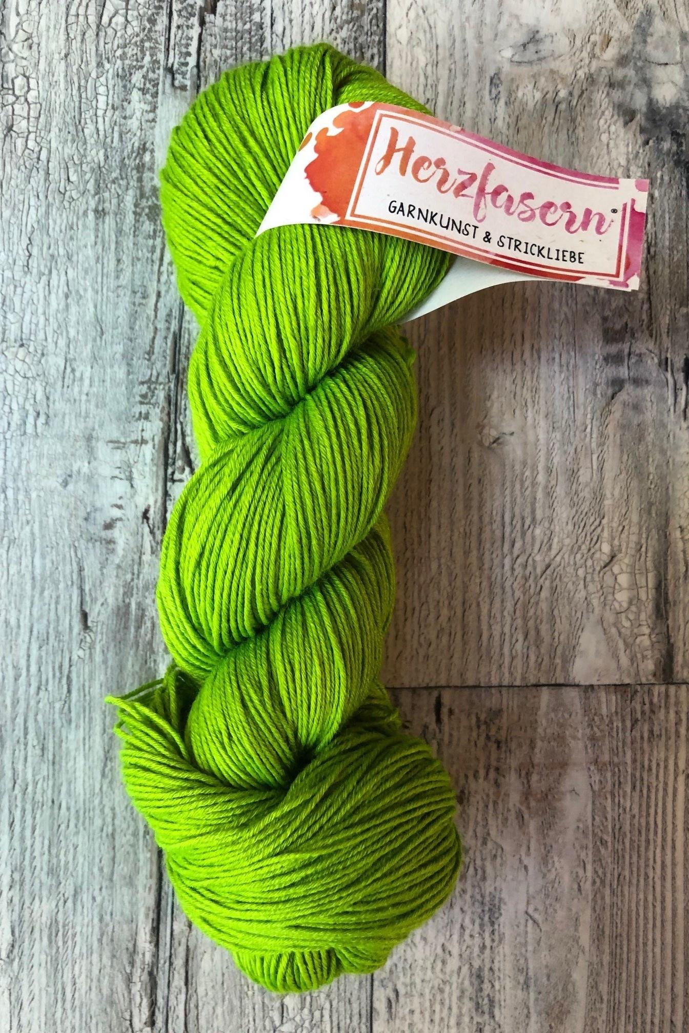 Merino/Seide - Einfach grün