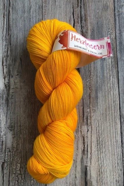 Herzfasern Lace Merino 600 -Saffron