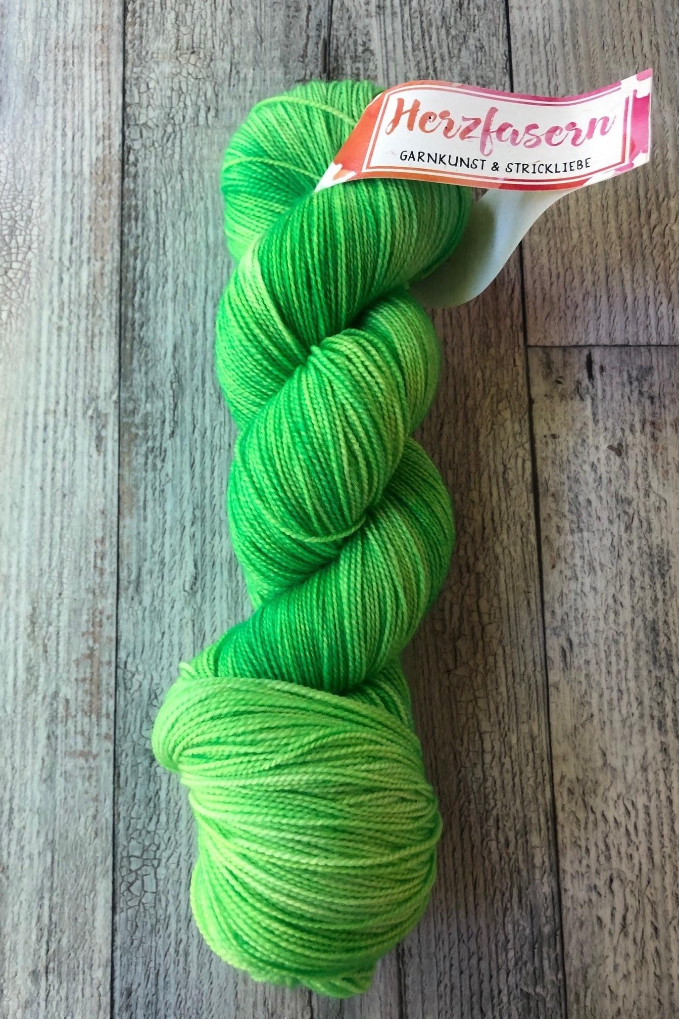 Herzfasern Lace Merino 600 -Kermit