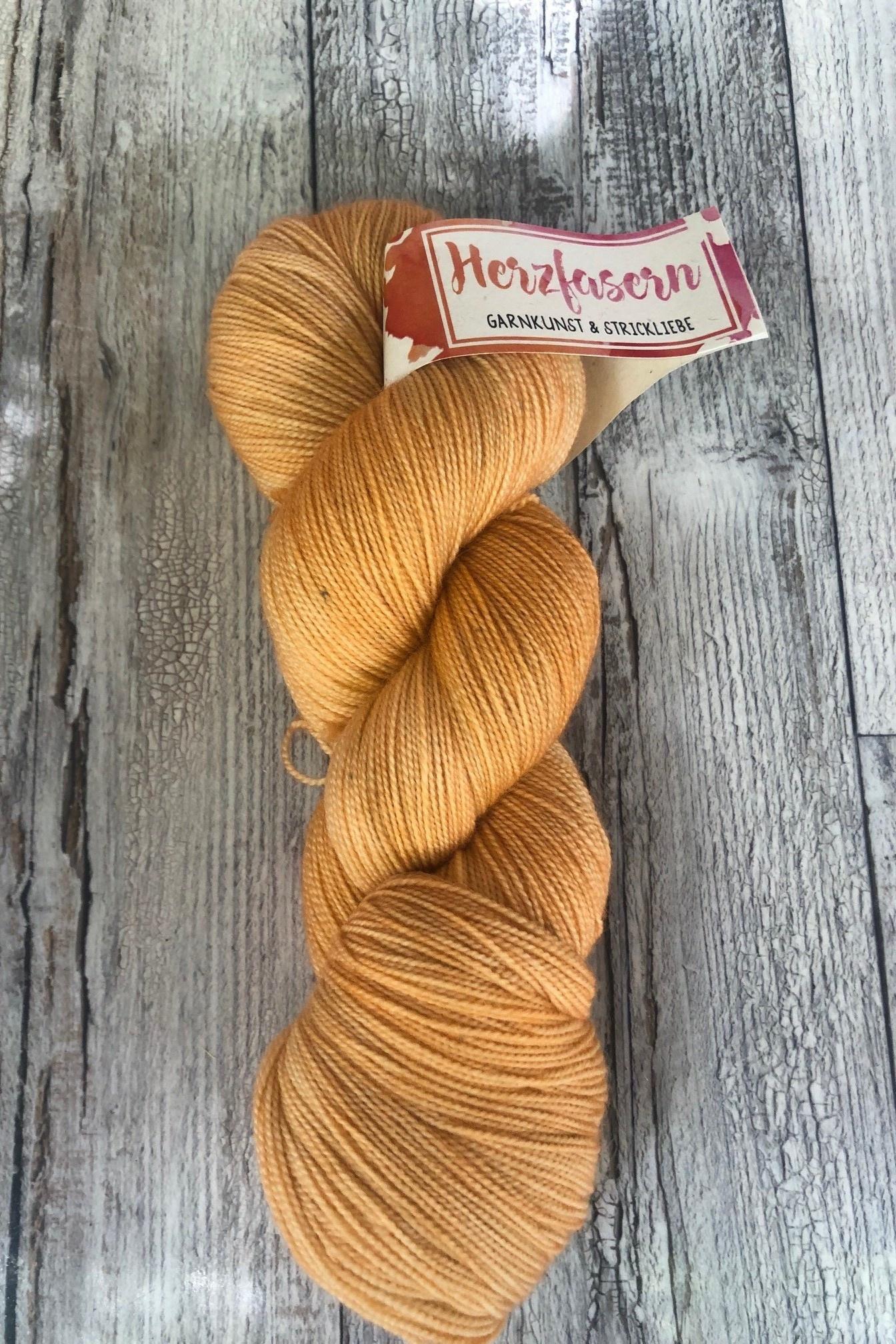 Herzfasern Lace Merino 600 -Cocolint - Apricot