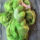 Herzfasern Sockenwolle 6-fach mit recyceltem Polyamid - Kiwisorbet