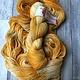 Herzfasern  Merino 400  - Herbstgold
