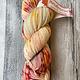 Herzfasern Herzfaser No 22 - Sockenwolle 4-fach  mit recyceltem Polyamid-muselingfrei Phantasie Rose