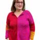 Herzfasern Strickanleitung Farbenfroher Pulli aus Herzfaser No 10