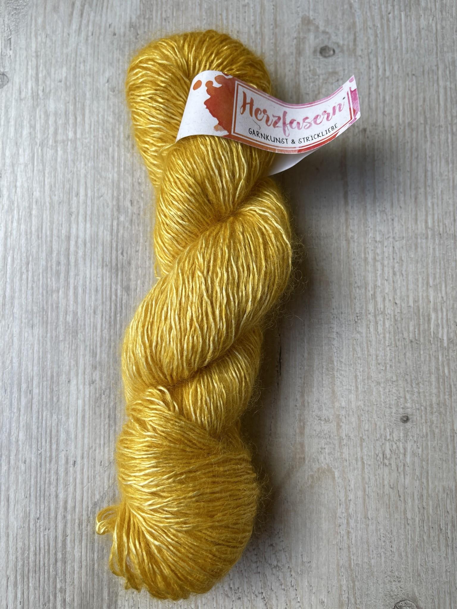 Seide/Mohair - Goldrausch