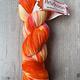 Herzfasern Lace Merino 600 - Neon Impressionen Orange Pink