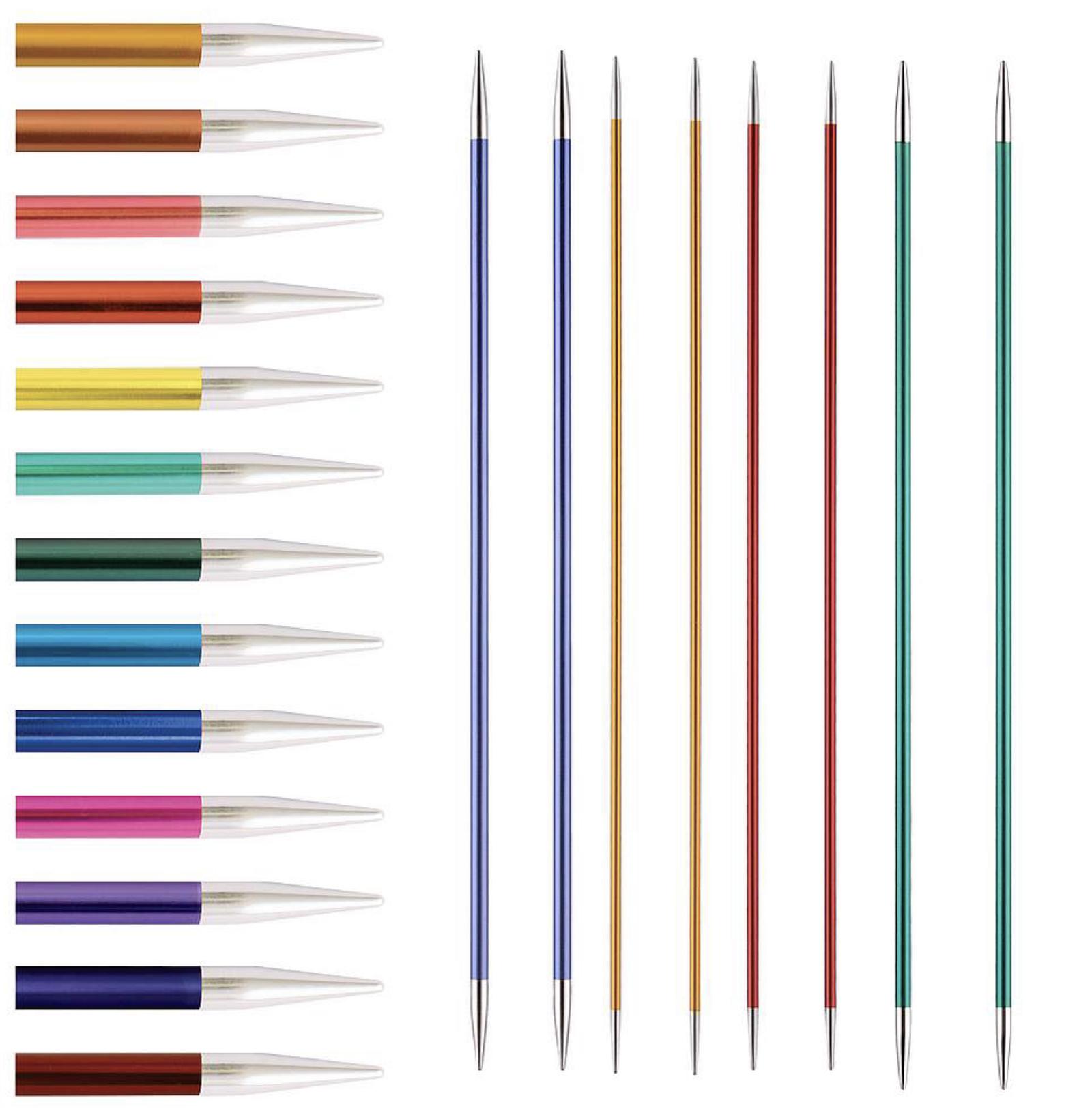 Knit Pro Zing KnitPro Zing Nadelspiel 5,0 mm - 15 cm