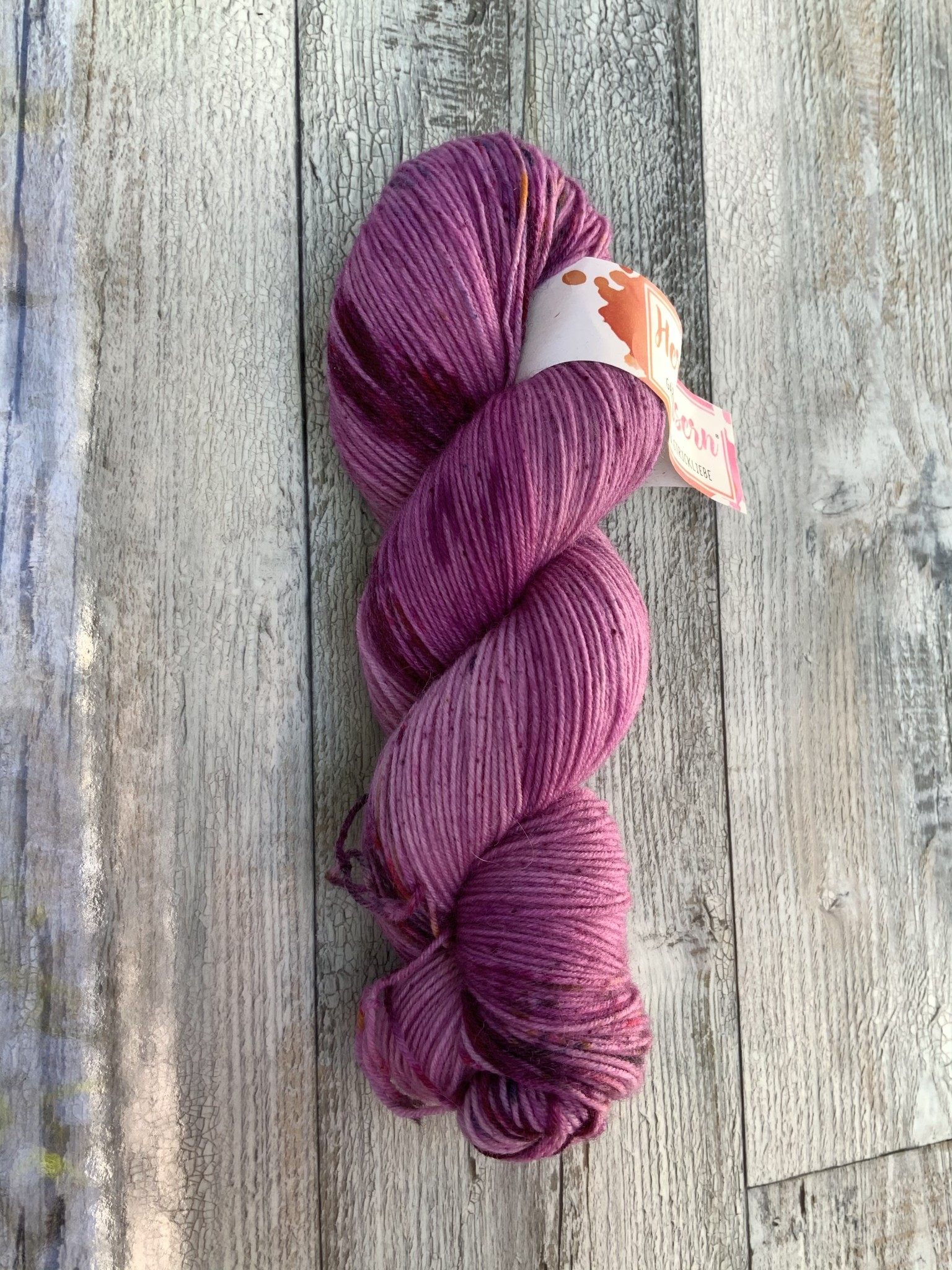Herzfasern Sockenwolle - Lila Rose