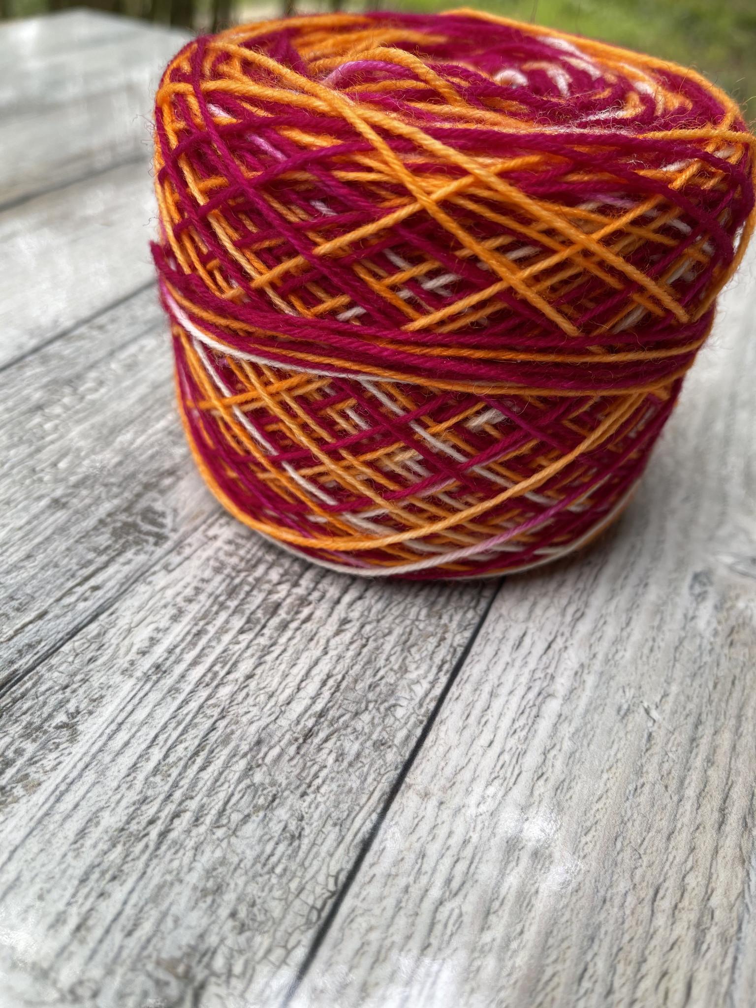 Sockenwolle -  Pompom