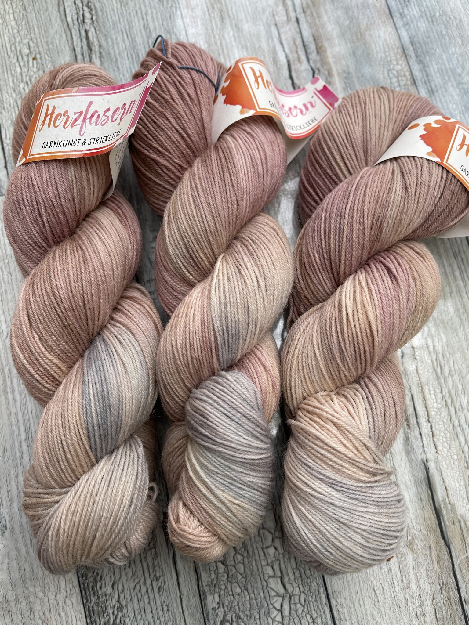 Sockenwolle -  Rosenquarz