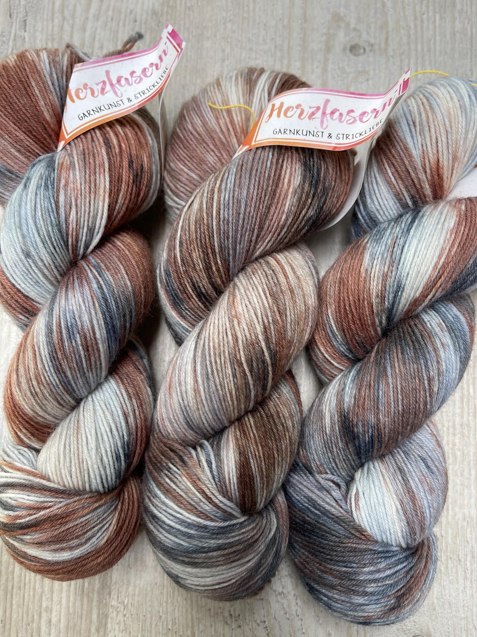 Sockenwolle -  Kiesel