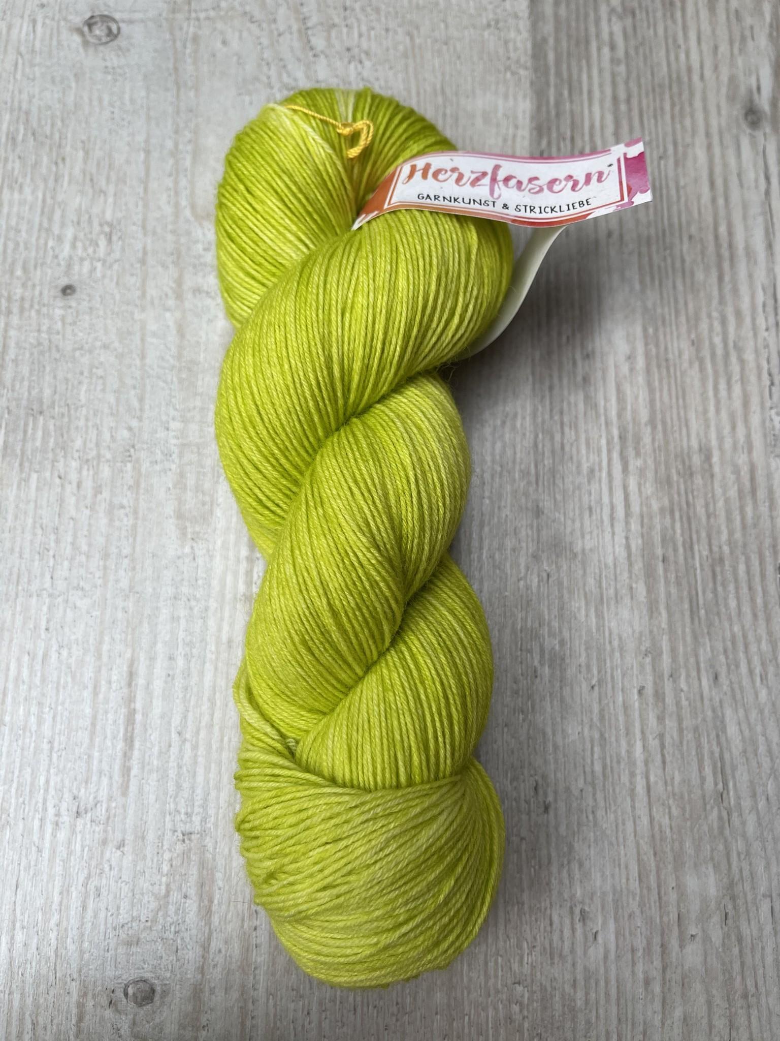 Sockenwolle -  Limette