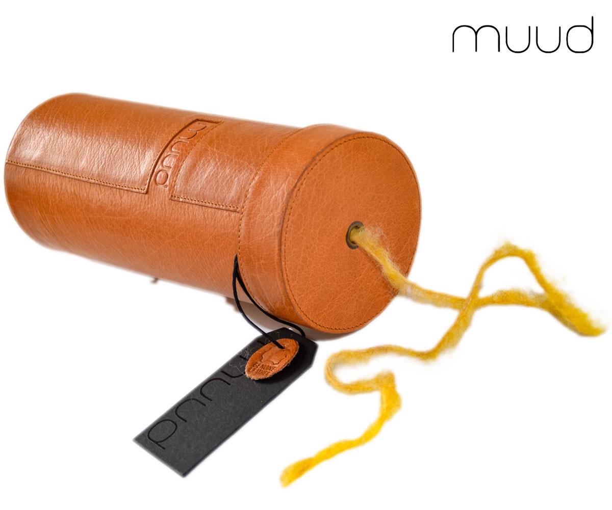 Muud Mountain XL - Handgefertigte Lederbox von muud