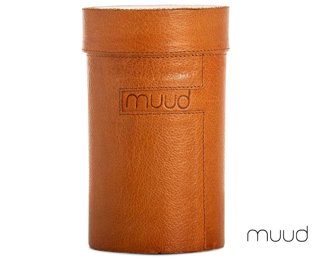 Muud Mountain - Handgefertigte Lederbox von muud