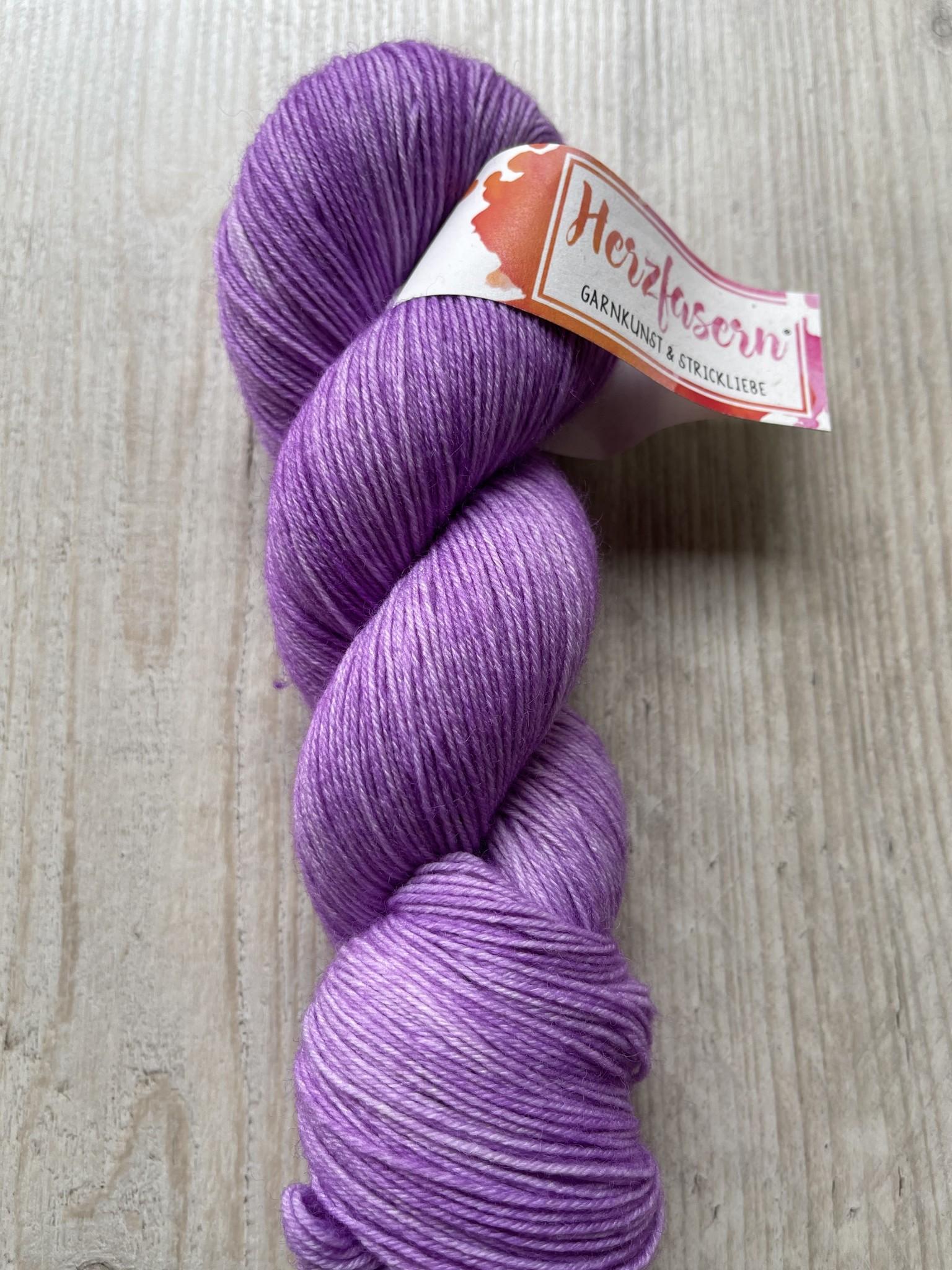 Sockenwolle -Lila light