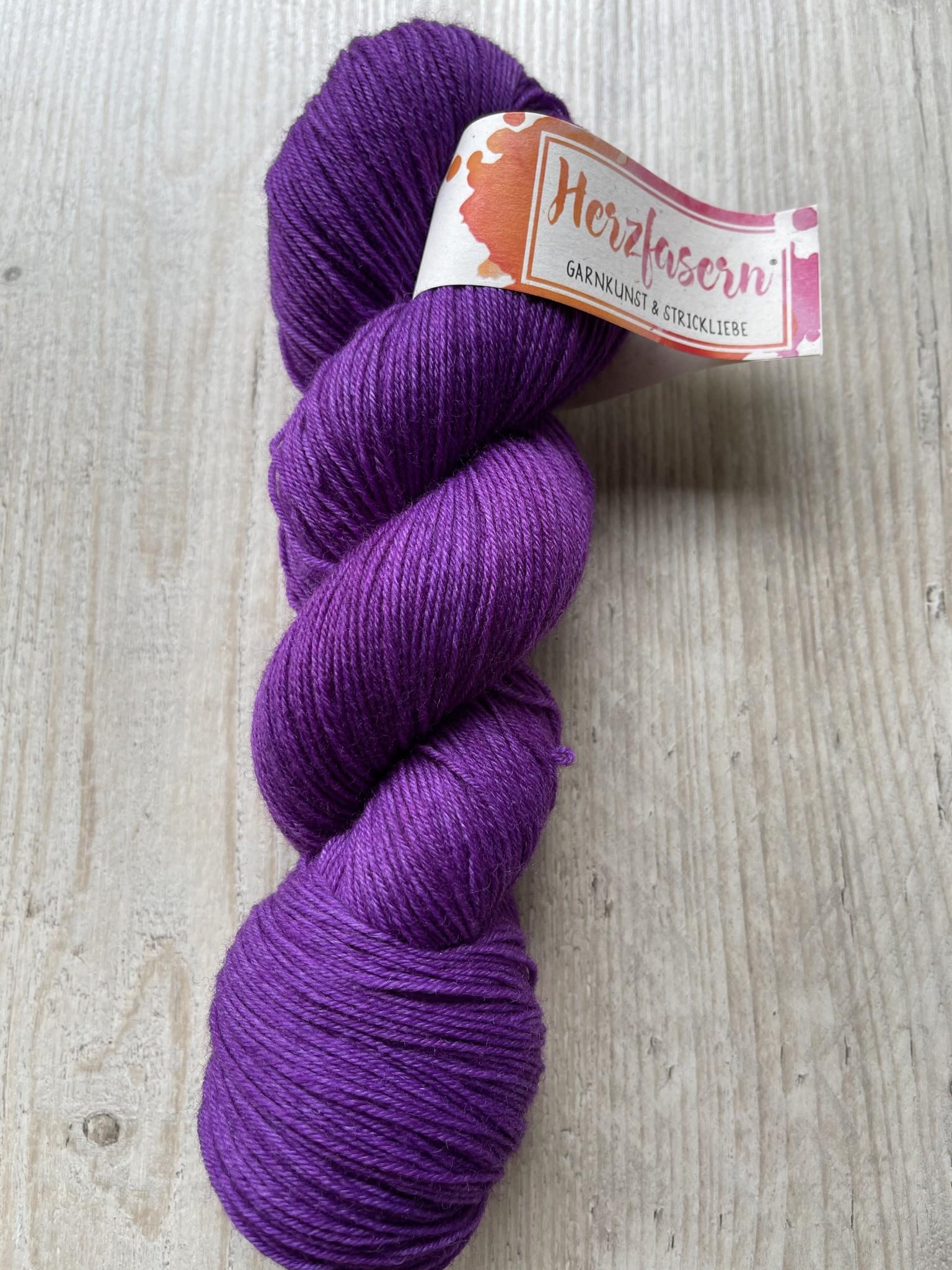 Sockenwolle -Lila