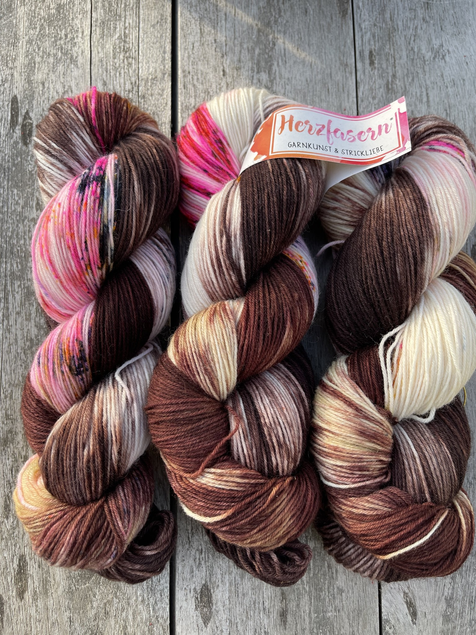 Sockenwolle - Sockenwolle mit Streusel