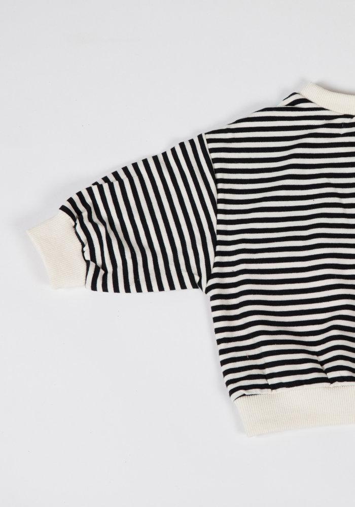 Sweater Eleven Paars/Geel
