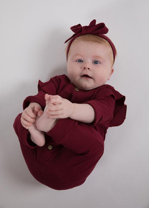 Sunny Novmbr Jumpsuit Lorelai Bordeaux Rood