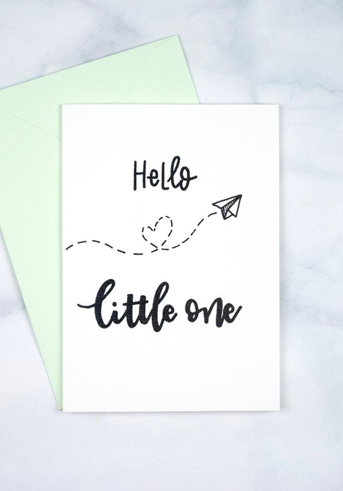Kaart - Hello Little One