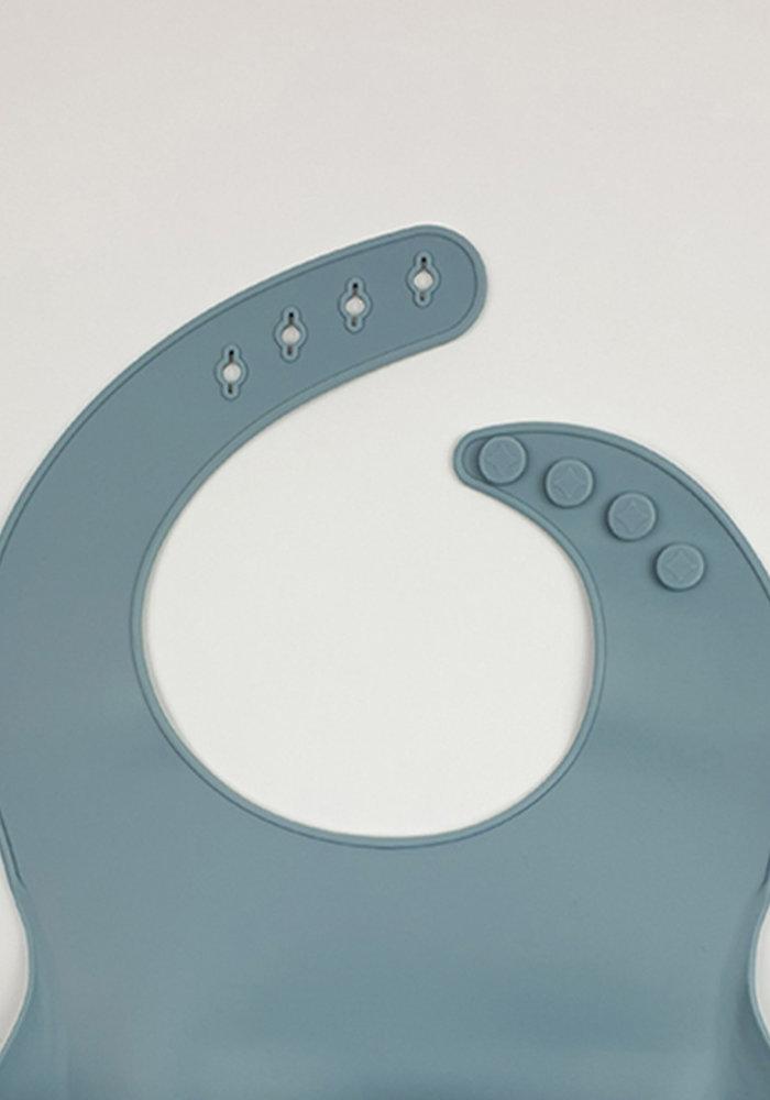 Sunny Siliconen Bib Zacht Blauw (BPA vrij)