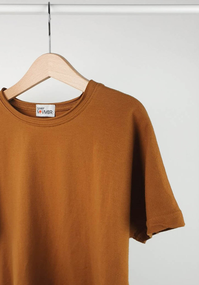 KatoenenT-shirt Boxy Charlie Roest