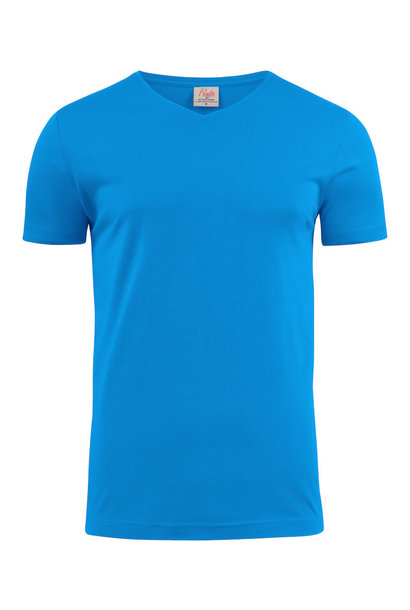 Heavy Heren T-Shirt V-Neck