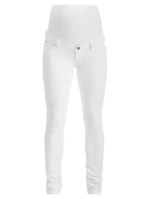 Noppies Slim jeans mila 7/8 pijp wit