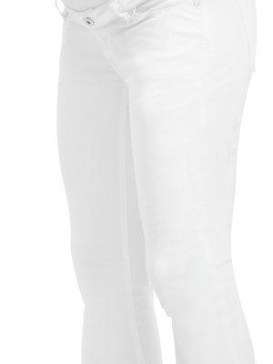 Noppies Slim jeans mila 7/8 pijp wit.